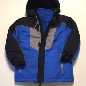 Athletech Boys Jacket With Removable Inner Jacket